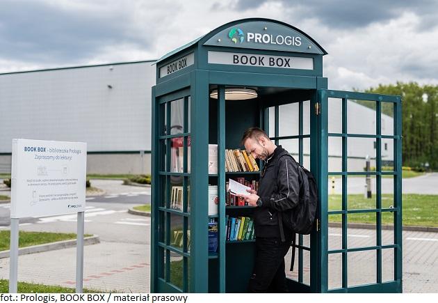 Prologis wynosi PARKlife na kolejny poziom – wystartowały BOOK BOX