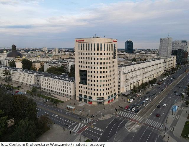 Biurowiec Centrum Królewska w Warszawie rozpoczyna komercjalizację
