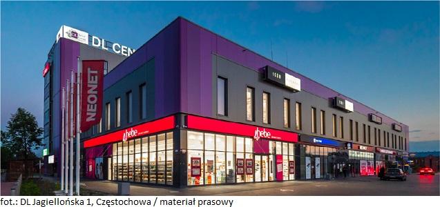 Biurowiec w Częstochowie DL Jagiellońska 1 powiększa grono swoich najemców