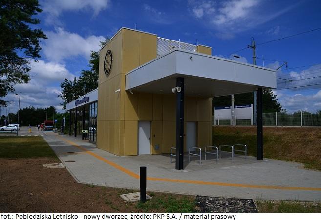 Pobiedziska Letnisko - nowy dworzec