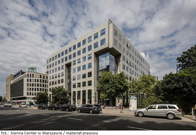 Grono najemców biurowca Sienna Center w Warszawie powiększyło się o kolejną międzynarodową firmę