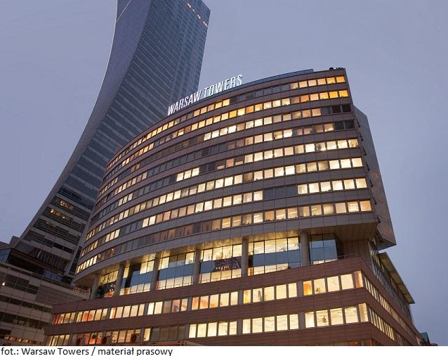 CA Immo podpisało umowę przedłużenia najmu powierzchni biurowej w Warsaw Towers