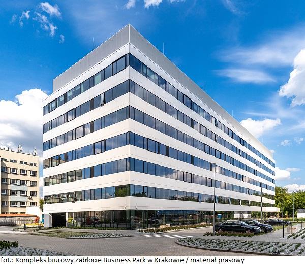 Kompleks biurowy Zabłocie Business Park w Krakowie z nową umową najmu powierzchni