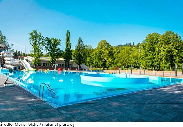 Zabytkowy park kąpielowy w Wiśle został oficjalnie oddany do użytku