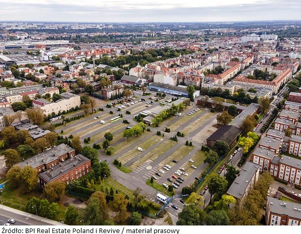 Innowacyjny koncept tymczasowego zagospodarowania terenu od BPI Real Estate Poland i Revive