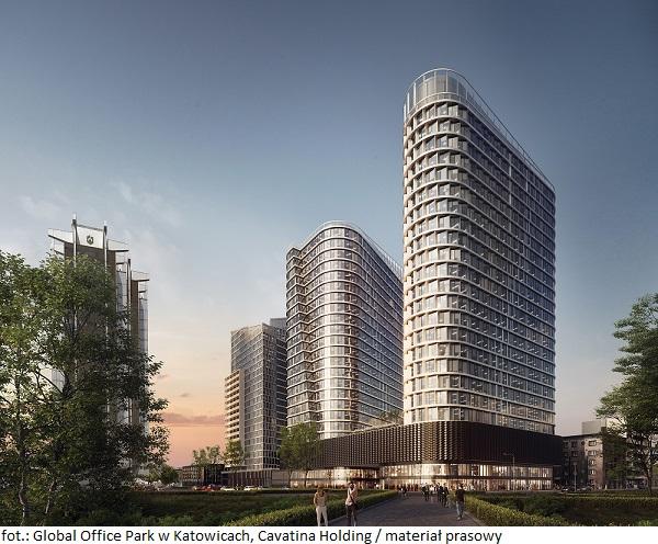 Duże miasta regionalne przyciągają najemców. Global Office Park w Katowicach z kolejną umową