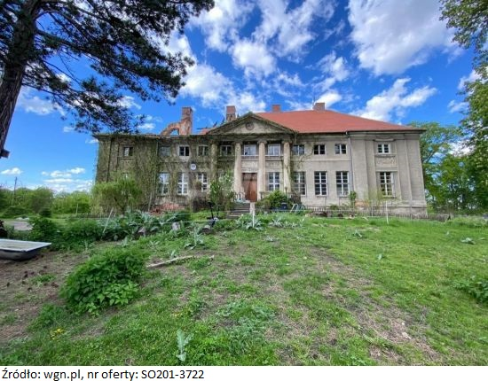 WGN sprzedaje zabytkowy pałac z XVIII w. za 2 500 000 zł