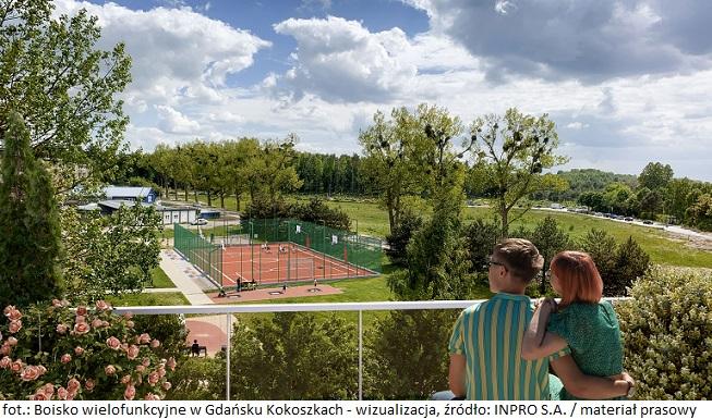 Firma INPRO S.A. wybuduje boisko dla mieszkańców Gdańska