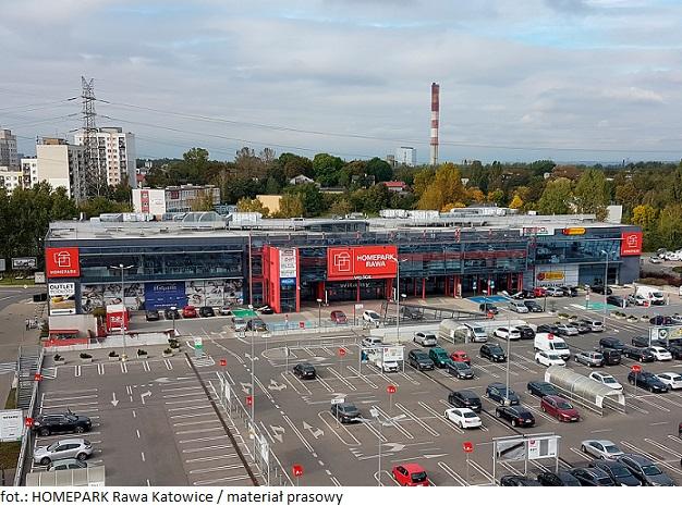 HOMEPARK Rawa w Katowicach z bogatsza ofertą handlową