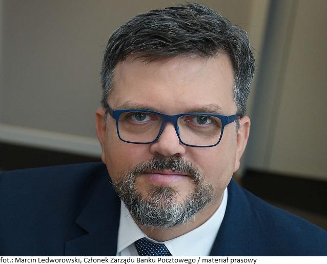 Marcin Ledworowski Członek Zarządu Banku Pocztowego_web