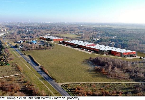 Kompleks magazynowy 7R Park Łódź West II pozyskał dwóch nowych najemców