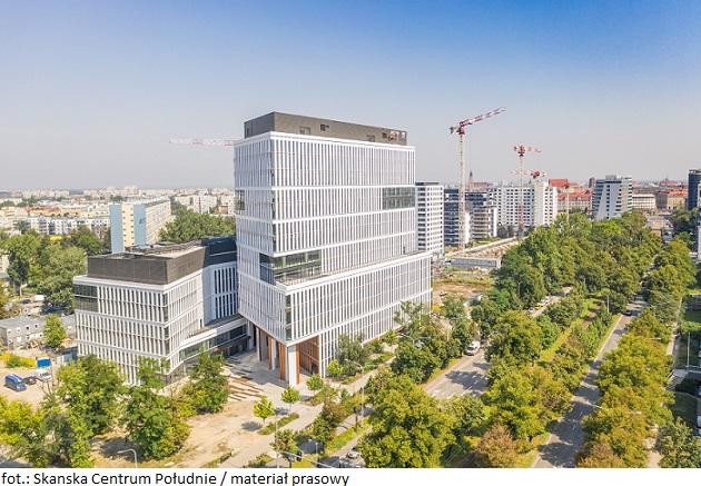 Deweloper Skanska z zieloną energią dla inwestycji Centrum Południe we Wrocławiu
