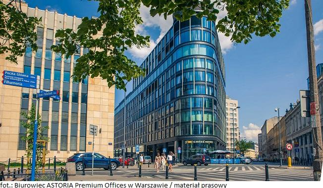 Biurowiec ASTORIA Premium Offices w Warszawie przedłuża umowę z dotychczasowym najemcą