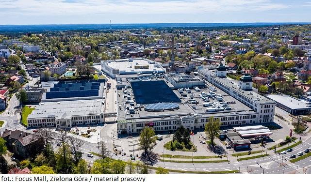 Zielonogórskie centrum handlowe Focus Mall z nowymi otwarciami