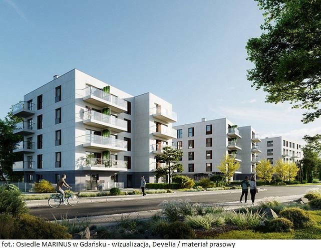 Develia wprowadza do sprzedaży mieszkania z rynku pierwotnego w Gdańsku