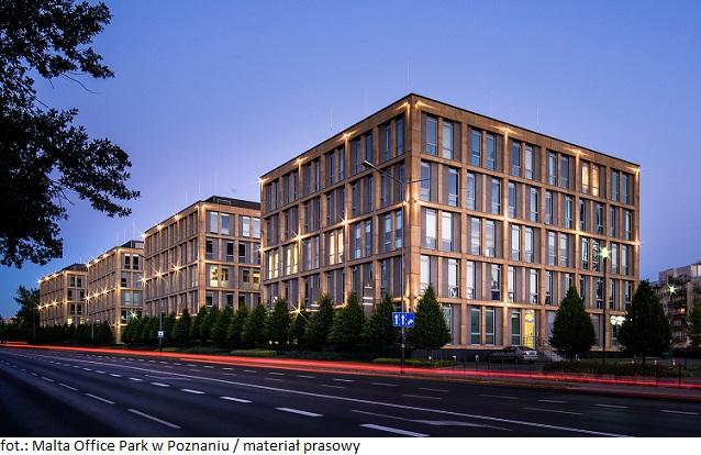 Biura w Poznaniu wciąż atrakcyjne: biurowiec Malta Office Park zatrzymuje na dłużej najemcę