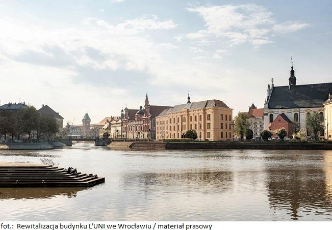 Rewitalizacja budynku L'UNI we Wrocławiu dobiega końca