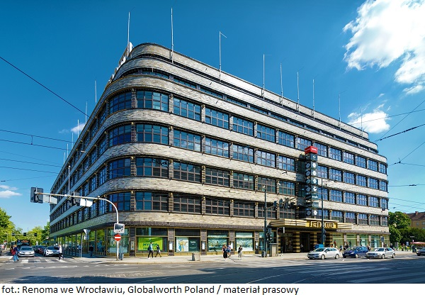 Budynki komercyjne i biurowe od Globalworth z paczkomatami