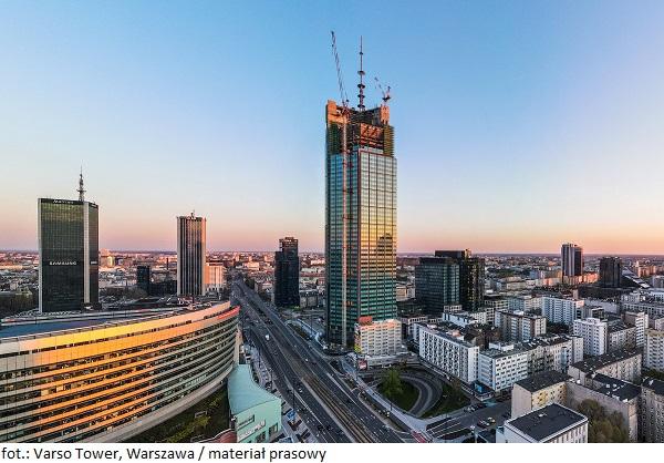 Warszawski wieżowiec stanie się siedzibą siedzibą renomowanej kancelarii prawnej Greenberg Traurig