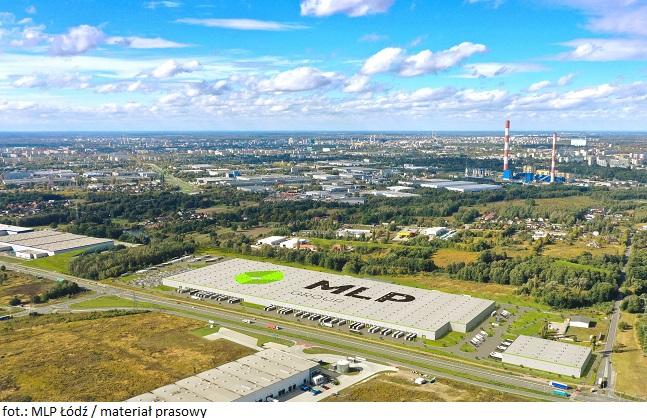 Park magazynowy MLP Łódź z nowym najemcą na ponad 6 tys. mkw. powierzchni produkcyjno-biurowej