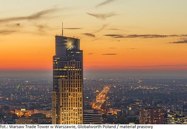 Segment biurowy się rozwija - wieżowiec Warsaw Trade Tower oferuje najemcom nowe udogodnienia