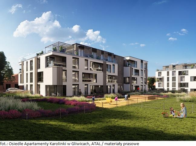 Apartamenty Karolinki w Gliwicach -  ATAL z pozwoleniem na użytkowanie dla pierwszego etapu inwestycji
