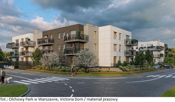 Rozpoczęła się sprzedaż mieszkań w ramach inwestycji Olchowy Park w Warszawie