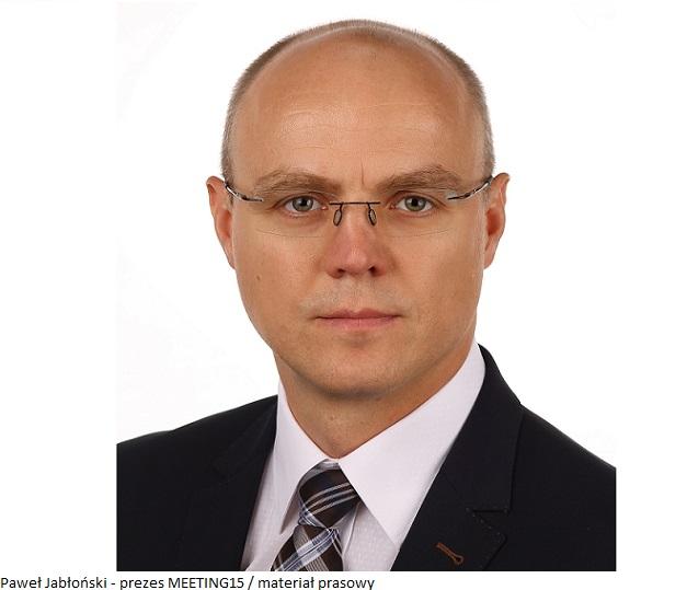Paweł Jabłoński - prezes MEETING15