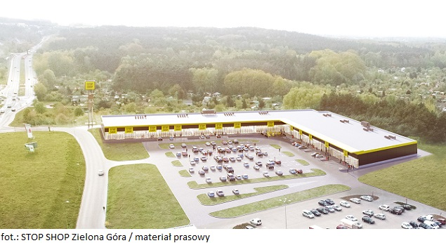 STOP SHOP Zielona Góra zwiększa poziom komercjalizacji powierzchni komercyjnej