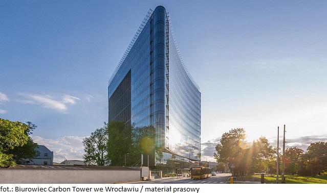 Biurowiec Carbon Tower we Wrocławiu z nowym najemcą